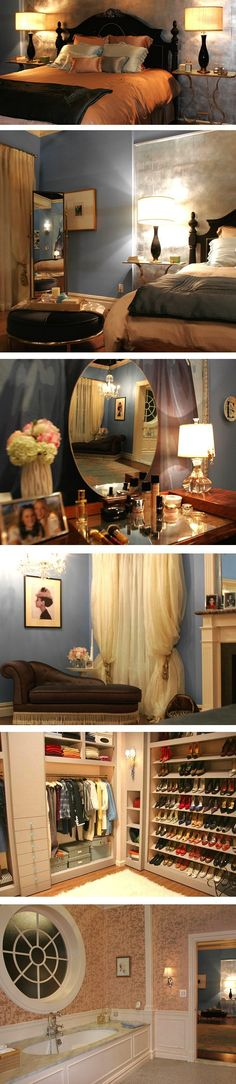 BEDROOM DECOR: Blair Waldorf