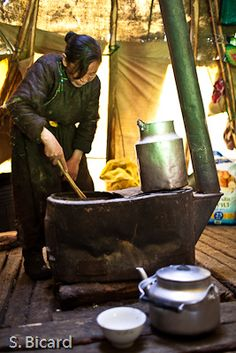 Cooking - Mongolia