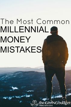 We all make mistakes, but millennial money mistakes seem to happen often. It's probably because as millennials we don't listen or we feel entitled. Change! via @Thegivingbudget