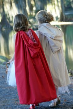 A Little Loveliness: Little Red Riding Hood Costume Tips & Tutorial Renaissance Festival Costumes, Medieval Costume, Cute Costumes, Halloween Costumes, Red Riding Hood Costume Kids, Fancy Dress, Dress Up, Little Red, Sewing Clothes