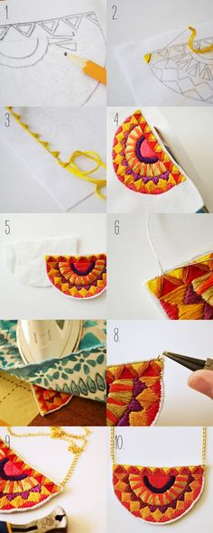 stepsi want to do this necklace, so cute, so beautiful and so easy!!! summer diy!!!