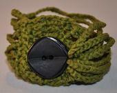 braccialetto MOMO color verde in cotone : Braccialetti di love-affairs