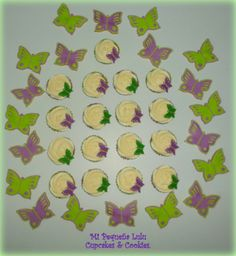 Butterfly Cupcakes and Cookies.