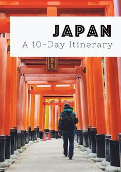 How to get the most out of 10 days in Japan – a full itinerary including things to do, places to stay, and vegetarian-friendly restaurants. The ultimate travel guide to Japan. | Bridges and Balloons #Japan