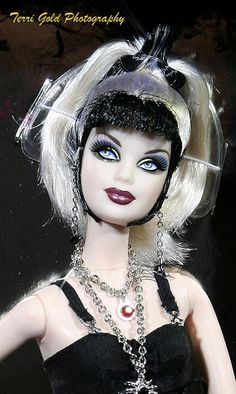 Gothic Barbie Doll OOAK