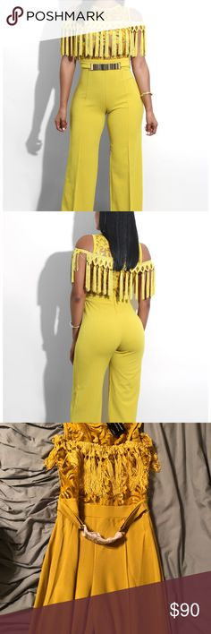 🎉STATEMENT ALERT🎉BNWT Jumpsuit🎉 By far this is the cutest Jumpsuit on Posh. BNWT Jumpsuit. Never worn. Has some stretch to it. Lmk if you have any questions. valentine Pants Jumpsuits & Rompers