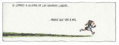Liniers – Si corrés a la hora de las sombras largas… parece que vas a mil.