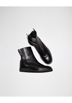 Yohji Yamamoto Zip Boots | La Garçonne