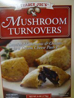 Trader Joe's 365: Day 21 - Mushroom Turnovers