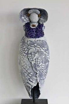 Ceramic Figures, Garden Sculpture, Projects To Try, Wedding Decorations, Arts And Crafts, Clay, Pottery, Ceramics, Dolls