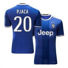 Juventus Away 16-17 Season Blue #20 PJACA Soccer Jersey [H498]