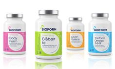 BioForm supplements #packaging