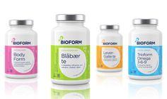 Bioform packaging :: designed by Stromme Throndsen Design, Norway