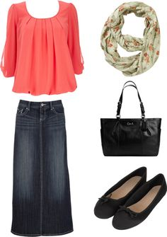 """""""Modest is Hottest"""" by mommawarren ❤ liked on Polyvore"""