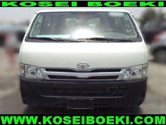 Export Japanese Used Van-Minivan Van-Minivan Hiace Van ( 15 Seater Bus LHD ) 2011 (1364) Vehicles Direct From Japan