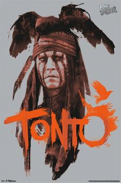 The Lone Ranger - Tonto Prints at AllPosters.com