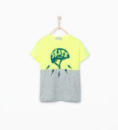 Image 1 of Combined skate T-shirt from Zara