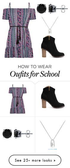 """Perfect for back to school!"" by ryleebretton on Polyvore featuring BERRICLE, women's clothing, women, female, woman, misses and juniors"