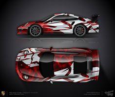 Design consept #13 Porsche 911 GT3 RS 991 for sale