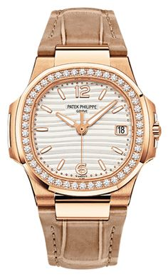 Patek Philippe [NEW] Nautilus Ladies RG 7010R-011 (Retail:HK$236,800) at Special Price: HK$195,000.