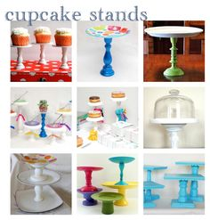 Como hacer un cupcake stand