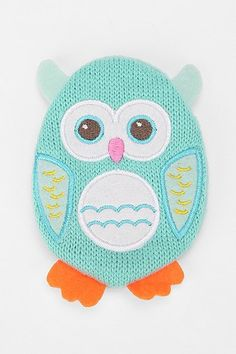 Owl Hand-Warmer...perfect for cold Klamath Falls days!