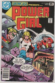 Showcase V1 99.  VF. April 1978.  DC Comics by RubbersuitStudios #powergirl #comicbooks