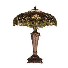 "Astoria Grand Diane 24"" Table Lamp - #Astoria #Diane #Grand #lamp #Table #TiffanyLamp - Mini Table Lamps, Table Lamp, Ceiling Lamps Dining, Floor Lamp Base, Beautiful Lamp, Traditional Desk Lamps, Rustic Lamps, Candlestick Table, Tiffany Ceiling Lights"