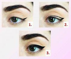 Come applicare l'eyeliner: http://www.cristianlayitalia.it/rendere-labbra-meno-sottili-applicare-matita-occhi/