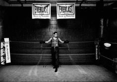 Gleasons Boxing Gym, New York, 2005  Photography by Jim Lommasson