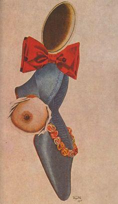 Tumblr  Collage by Jindřich Štyrský, 1935