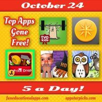 A cool selection of free apps for today's 5 a Day. We have a great cooking app perfect for Halloween - My Little Cook HD - Witch's Fingers ;...