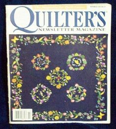 Quilter�s Quilters Newsletter Magazine #307 1998 November