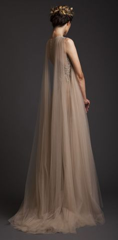 Inspiration for Much Afraid gown for ball / gala