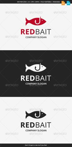 Description This logo can be used by fishing companies, sea food comanies, etc.Whats included?100 vector AI and EPS files CMYK Fu