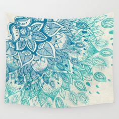 New Indian Mandala Tapestry Hippie Wall Hanging Blue Bohemian Bedspread Dorm Decor My New Room, My Room, Dorm Room, Indian Wall Art, Beach Bedspreads, Bedroom Decor, Wall Decor, Bedroom Ideas, Bohemian Flowers