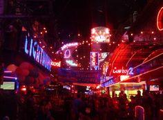 Final a la noche de Bangkok