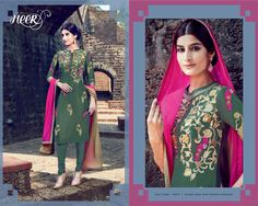 Beautiful green Designer suit more inquiry please what's app me+918128939797 😊😊😊 #salwarsuits