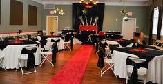 Red Carpet - Hollywood Oscars theme Reception