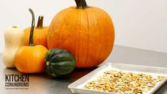 The Fast Way to Roast Your Pumpkin Seeds - Kitchen Conundrums with Thoma...