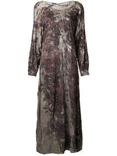 INDIA FLINT Scoop Neck Long Dress