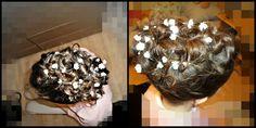 Hair for wedding! :)
