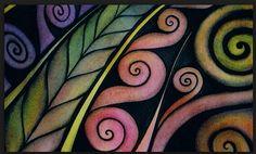 more Maori inspired Maori Designs, Maori Symbols, Kunst Der Aborigines, Maori Patterns, Polynesian Art, New Zealand Art, Nz Art, Maori Art, Mosaic Crafts