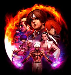 the king of fighters vai ter adaptação para anime e live-action