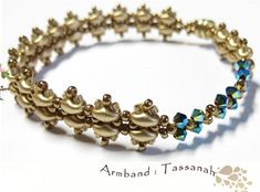 Free Beaded Bracelet Pattern featured in recent Sova-Enterprises.com Newsletter!