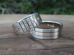 Výsledek obrázku pro snubni prsteny baron Baron, Rings For Men, Bracelets, Silver, Jewelry, Men Rings, Jewlery, Money, Bijoux