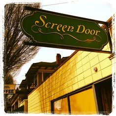 Screen Door Southern Food Portland http://portlandvacationcottage.com