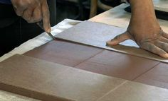 Ceramic Arts Daily – Pottery Video of the Week: Using a Masonite Template to Make Perfect, Consistent Ceramic Tiles.