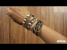 Make Bracelets Using Zippers Tutorial (3 Ways!) | eHow