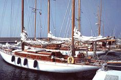 Sangermani yachts,  wooden sailing boats